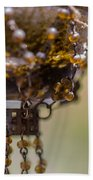 Hanging Beaded Votive Abstract 2 Beach Towel