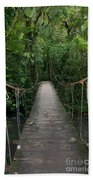 Hanging Bridge Beach Towel