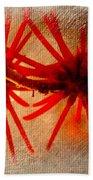 Hanging Spider Blooms Beach Towel