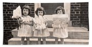 Happy Birthday Retro Photograph Beach Towel