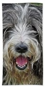 Happy Dog Beach Towel