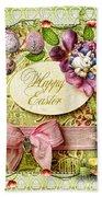 Happy Easter 2 Beach Towel