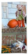 Happy Fall Beach Towel