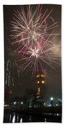 Happy New Year 2014c Beach Towel