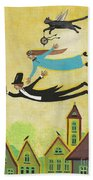 Happy Time Beach Towel