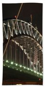 Harbor Bridge Beach Towel