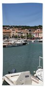 Harbor Cassis Beach Towel
