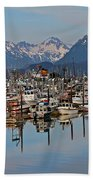 Harbor Life Beach Towel