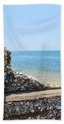 Harbor View Unseen Beach Towel