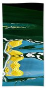 Harbour Master Abstract Beach Towel
