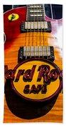 Hard Rock Beach Towel