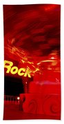 Hard Rock Hard Ride Beach Towel