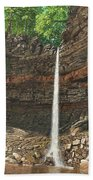 Hardraw Force Yorkshire Beach Towel