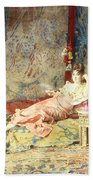 Harem Beauty Beach Towel by Alexandre Louis Leloir