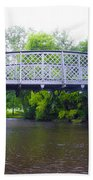 Hares Hill Road Bridge Beach Towel