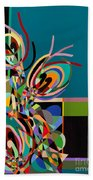 Harlequin Beach Towel