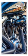 Harley Davidson 2 Beach Towel