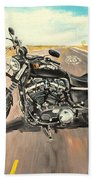 Harley Davidson 883 Sportster Beach Towel