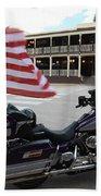 Harley Davidson Beach Towel