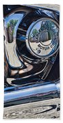 Harley Davidson Engine Beach Towel