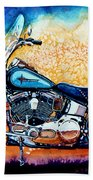 Harley Hog I Beach Towel