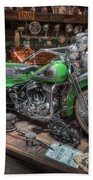 Harley Trike Beach Towel