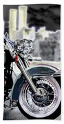 Harley Wtc Beach Towel