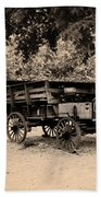 Harpers Ferry Wagon Beach Towel
