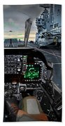 Harrier Cockpit Beach Towel