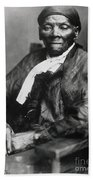 Harriet Tubman  Beach Towel