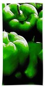 Hartville Peppers Beach Towel