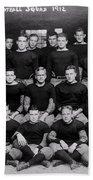 Harvard Football 1912 Beach Towel