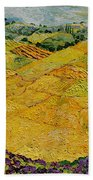 Harvest Joy Beach Towel