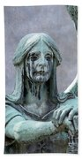 Haserot Weeping Angel Beach Towel