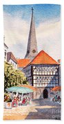 Hattingen Germany Beach Towel