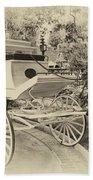 Haunted Mansion Hearse New Orleans Disneyland Heirloom Beach Towel