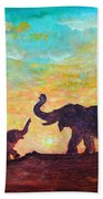 Have Courage Beach Towel