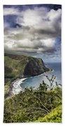 Hawaii Coastline Kauai  Beach Towel