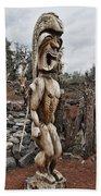 Hawaii Sculptures V2 Beach Towel