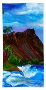 Hawaiian Homestead At Diamond Head Beach Sheet