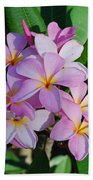 Hawaiian Lei Flower Beach Towel