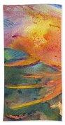 Hawaiian Longfish Beach Towel