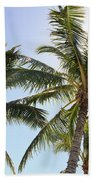 Hawaiian Palm Trees Beach Towel
