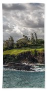 Hawaiian Shores Beach Towel