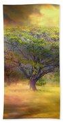 Hawaiian Tree Beach Towel