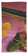 Hawaiian Ukulele Beach Towel by Darice Machel McGuire