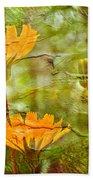 Hawkweed Wildflower Beach Towel