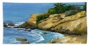 Hazy Laguna Morning Beach Sheet