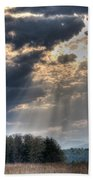 Hdr April 28 2014 Two Beach Towel