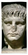 Head Of Nero Beach Towel by Anonymous